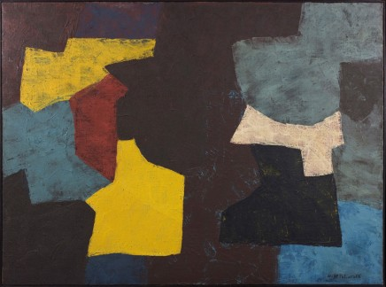 Serge Poliakoff, Composition Abstraite, 1956