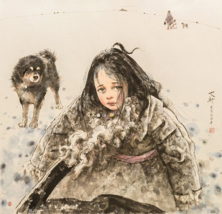 Ai Xuan, Early Winter at Waqie Village, 2017