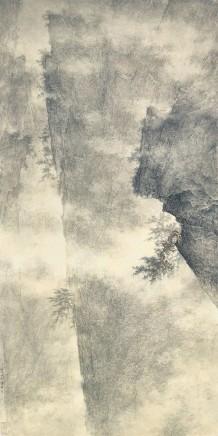 Li Huayi, Magnificent Hills and Pine, 2006