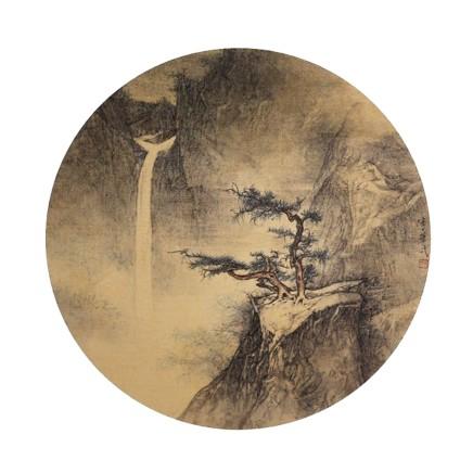 李华弌, 山水 (一), 2018