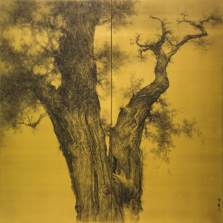 Li Huayi, Old Cypress, 2016