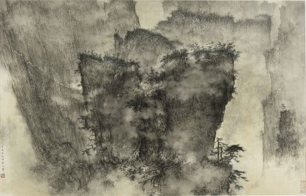 Li Huayi, A Gathering of Pines and Clouds, 2007