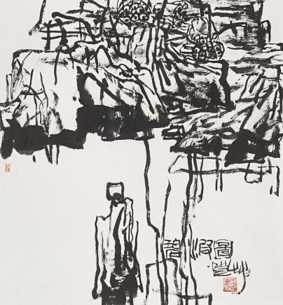 Pan Gongkai, Greenwaves, 2018