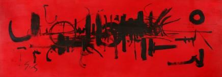 Georges Mathieu, Composition, 1950