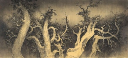 Li Huayi, Dancing Cypress Under the Moon, 2010