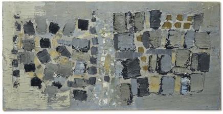 Nicolas de Staël, Composition en noir et blanc (Les pavés) , 1951