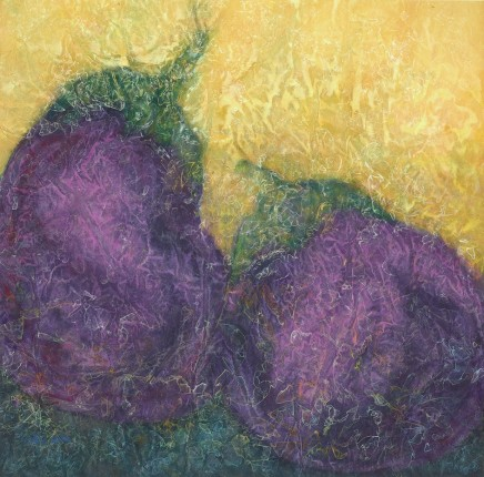 Nancy Chu Woo, Two Aubergines, 2013