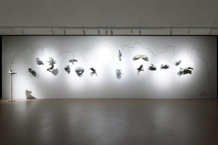 瑪蒂奧‧培利思的大型作品於「達文西:藝術與科學.過去與現在」展出