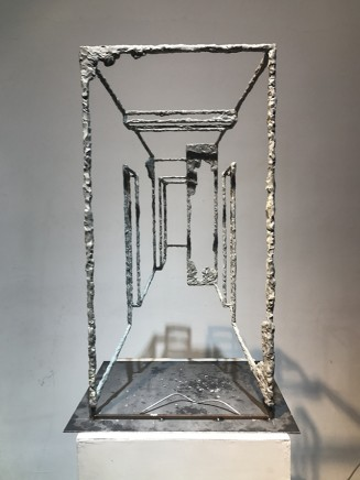 蔡磊 Cai Lei Frame 190215 ,83cm*42cm*30cm, 青铜 Bronze,2019