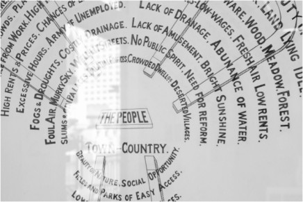 徐喆 Xu Zhe 另一种历史-临摹自Ebnezer Howard的《明日花园之城》,Another History - A Facsimile of Garden Cities of Tomorrow by Ebnezer Howard / 素描   铅笔纸本 Drawing   Pencil on paper 136×98cm