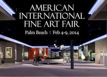 American International Fine Art Fair, Palm Beach, Florida
