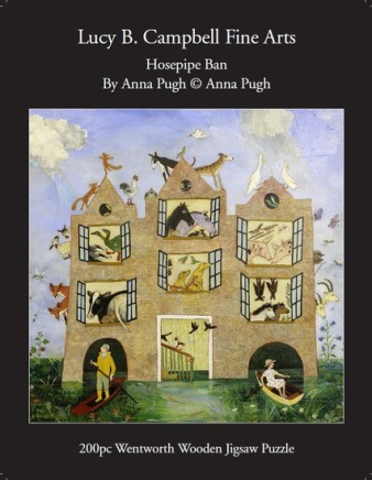 Anna Pugh Jigsaw Puzzle - OUT OF STOCK, Hosepipe Ban - 200 pieces