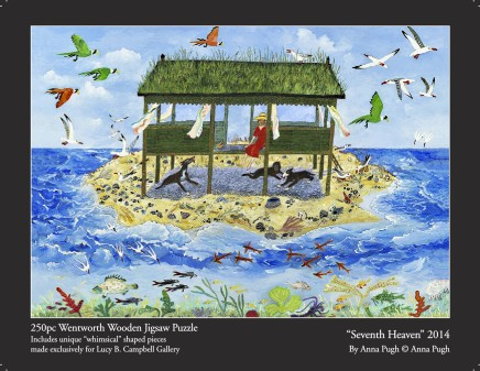 Anna Pugh Jigsaw Puzzle - OUT OF STOCK, 'Seventh Heaven' - 250 piece puzzle