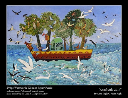 Anna Pugh Jigsaw Puzzle - OUT OF STOCK, 'Anna's Ark' - 250 piece puzzle