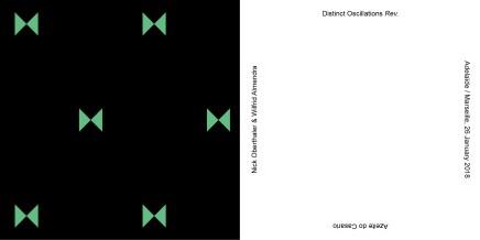 Nick Oberthaler   Distinct Oscillations Rev.