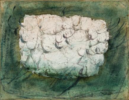 Jean FAUTRIER (1898 - 1964) Untitled (Feuillages), c. 1943