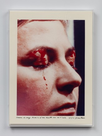 Gina PANE Action Psyché (essai), 24 janvier 1974, 1974