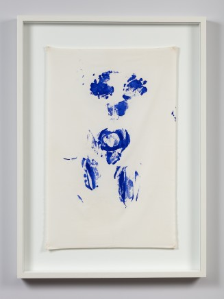 Yves Klein Untitled Shroud Anthropométrie (Ant su 5), c. 1960