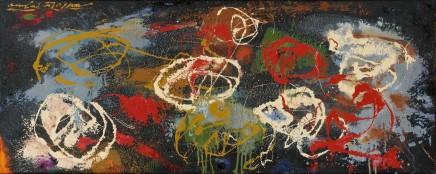 André MASSON (1896 - 1987) Vestiges d'un massacre, 1958