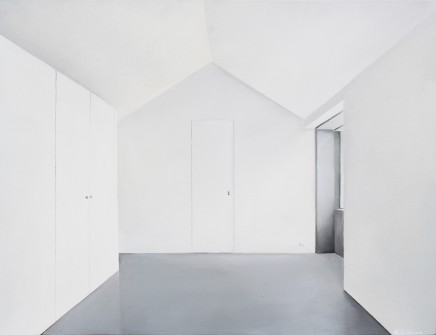 06 Empty Space Series Windowed Palace 50X65Cm Oil On Canvas 2011