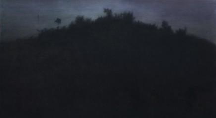 09 Ridge 102X183Cm Acrylic On Paperboard 2009