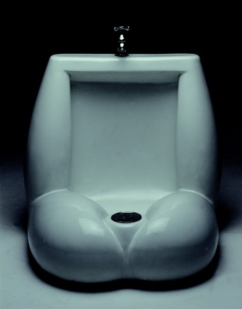 Urinal No.1 55X55X55Cm Bronze 1999