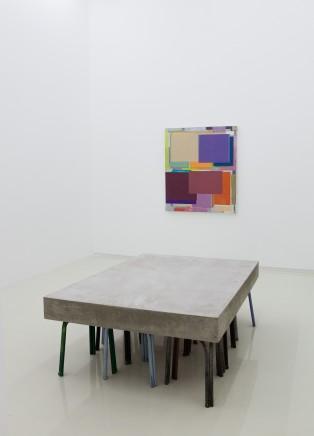 Benjamin APPEL 本杰明・阿普尔 Den Boden an die Wand lehnen 墙边的地面, 2017