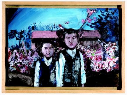 Flowering Peaches No.1 桃花林 系列之一, 2006