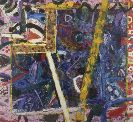 Gillian AYRES 吉莲·艾尔斯 Sapphire 蓝宝石, 1987-88