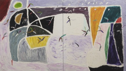 Gillian AYRES 吉莲·艾尔斯 White Wind 白色之风, 1997