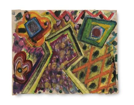 Gillian AYRES 吉莲·艾尔斯 Untitled No 3 无题 3, 1991