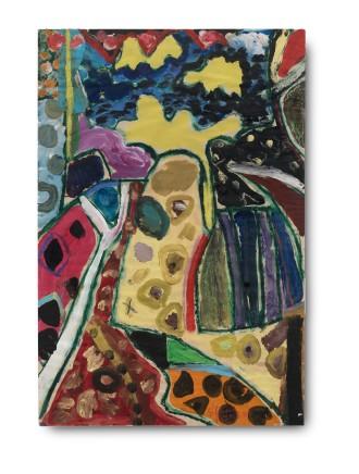 Gillian AYRES 吉莲·艾尔斯 Untitled 无题, 1989