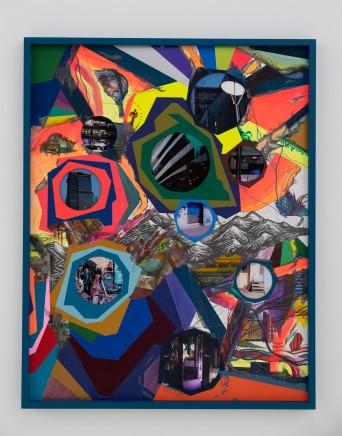 Franz ACKERMANN 艾稞曼 Behind the Hills Ⅰ 越过山丘, 2019