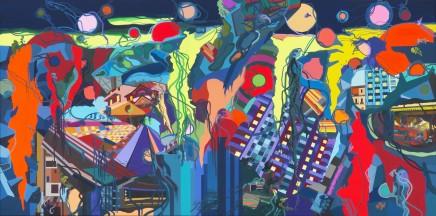 Franz ACKERMANN 艾稞曼 Heavy Rain 倾盆大雨, 2014
