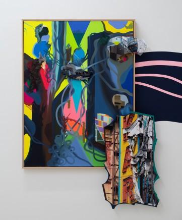 Franz ACKERMANN 艾稞曼 Untitled Winds Ⅱ 无名的风 2, 2019