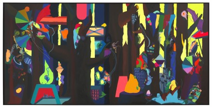 Franz ACKERMANN 艾稞曼 Wild Forest 狂野森林, 2012