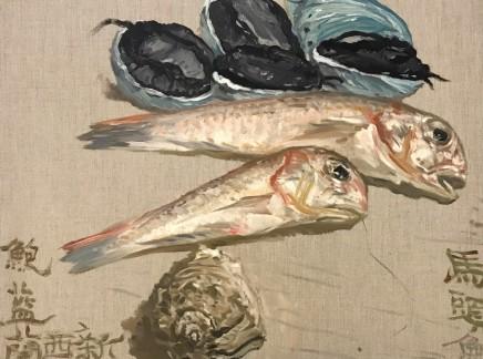 Ni Jun 倪军 Five Blue Abalones 五蓝鲍, 2019