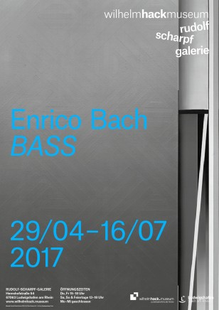 Enrico Bach: BASS at Wilhelm Hack Museums, Ludwigshafen