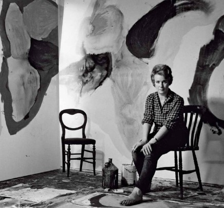 Gillian Ayres, photographed by Jorge Lewinski, 1963