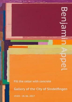 """本杰明·阿普尔个展""""将混凝土填满天花板""""在辛德尔芬根市美术馆开幕"""