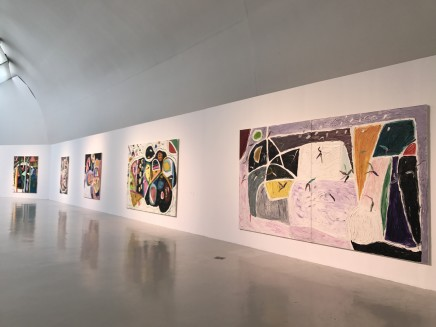 Sailing off the Edge: Gillian Ayres' Abstract Painting 1979 to the present, 2017, CAFA Art Museum