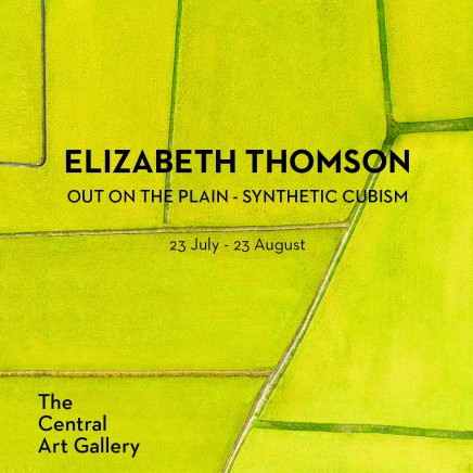 Out on the Plain - synthetic cubism by Elizabeth Thomson