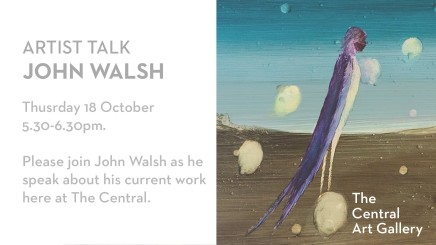 Artist Talk: John Walsh