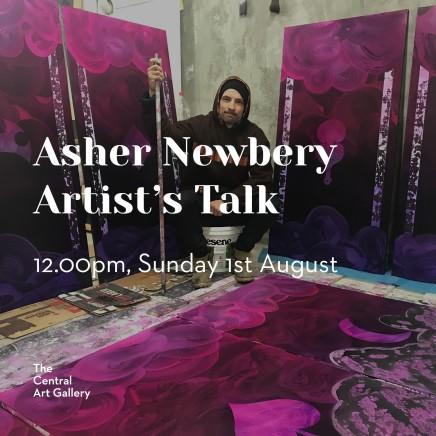 Artist Talk: Asher Newbery