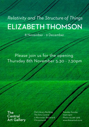 Exhibition Opening - Show #18: Relativity and The Structure Of Things by Elizabeth Thomson