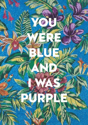 Exhibition Opening - Show #13: You Were Blue And I Was Purple by Reuben Paterson
