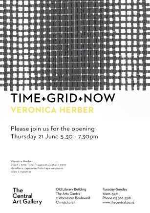 Exhibition Opening - Show #14: TIME+GRID+NOW by Veronica Herber