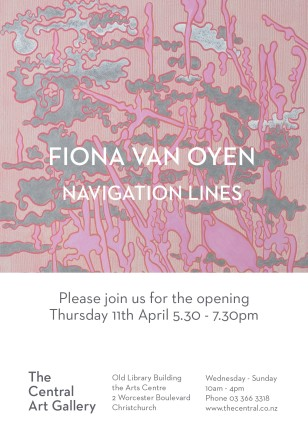 Exhibition Opening: NAVIGATION LINES by Fiona Van Oyen