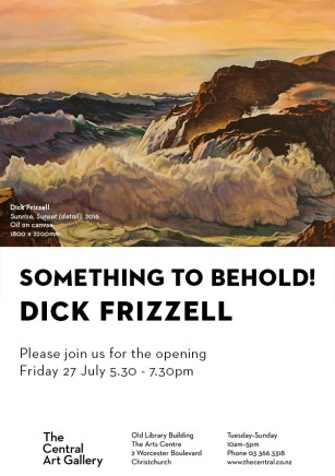 Exhibition Opening - Show #15: Something To Behold! by Dick Frizzell