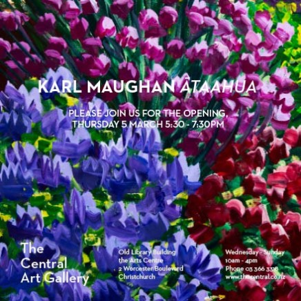 Exhibition Opening: Karl Maughan